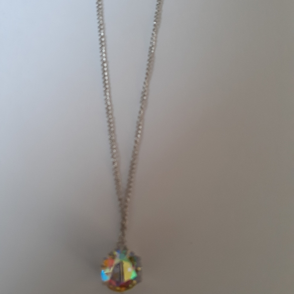 Paparazzi iridescent necklace with earrings